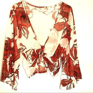 3 for $20 Lynn Ritchie Silver Sheer Wrap front top